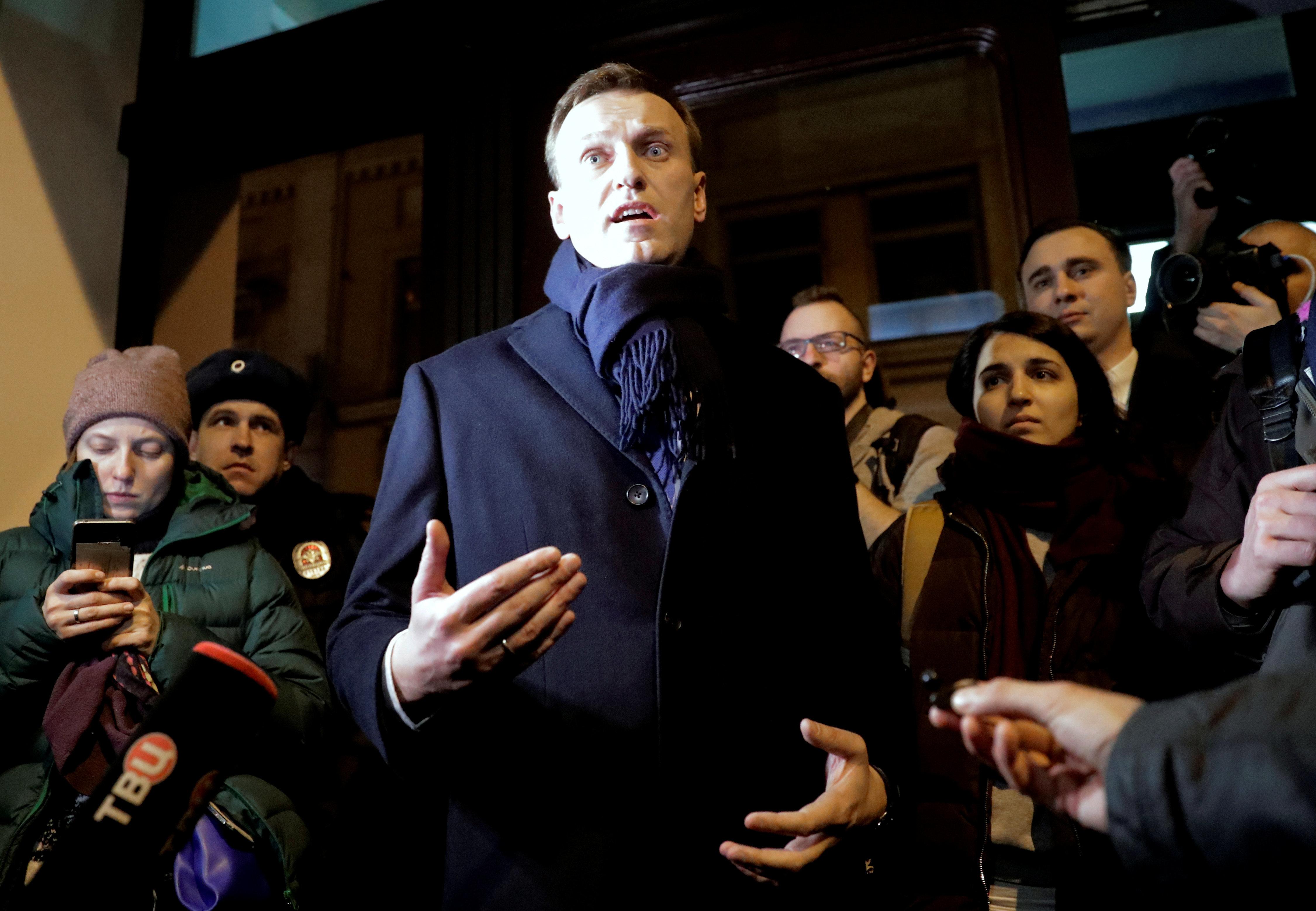 Μπλόκο στην υποψηφιότητα Ναβάλνι από την κεντρική εκλογική