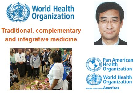WHO Trad-Med leader Zhang Qi, the re-named initiative, and a ritual kicking off the PAHO network