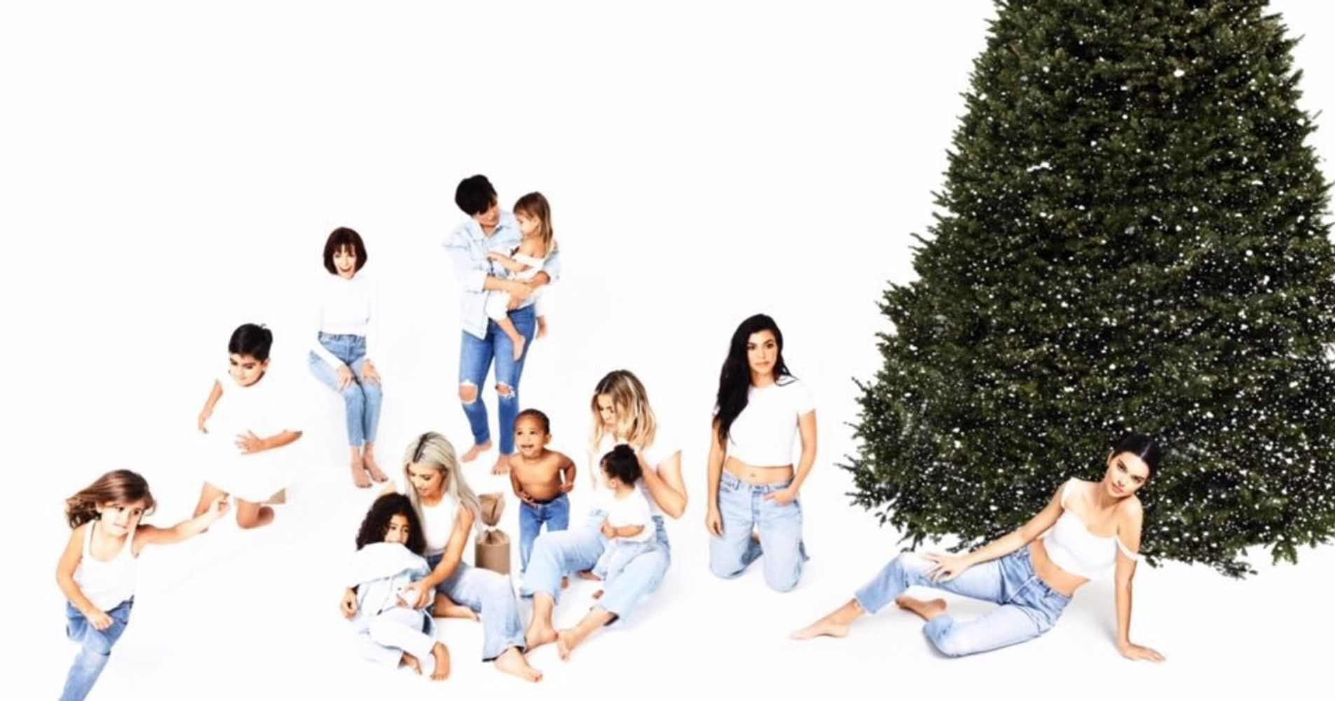 Kylie Jenner Absent From Kardashian Family Christmas Card | HuffPost