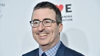 NEW YORK, NY - NOVEMBER 07:  John Oliver attends the 11th Annual Stand Up for Heroes Event presented by The New York Comedy Festival and The Bob Woodruff Foundation at The Theater at Madison Square Garden on November 7, 2017 in New York City.  (Photo by Bryan Bedder/Getty Images for Bob Woodruff Foundation)