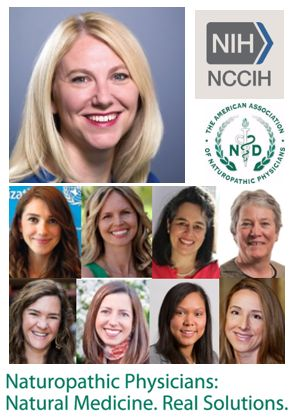 Weber at NIH NCCIH and naturopathic women in their profession's leadership