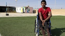 Syrian Teen Left Paralysed By Assad Bomb Dreams Of Rebuilding His