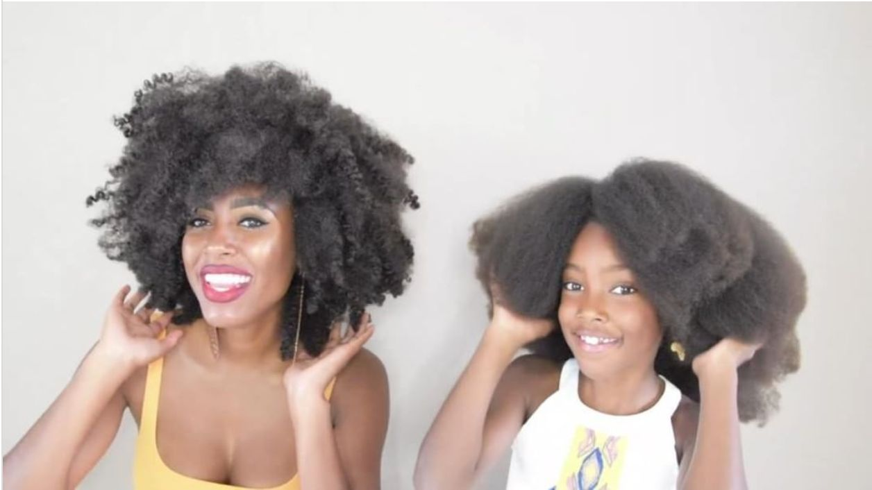 This Mummy YouTuber Is Going To Give Little Afro-Haired Girls So Much Life In