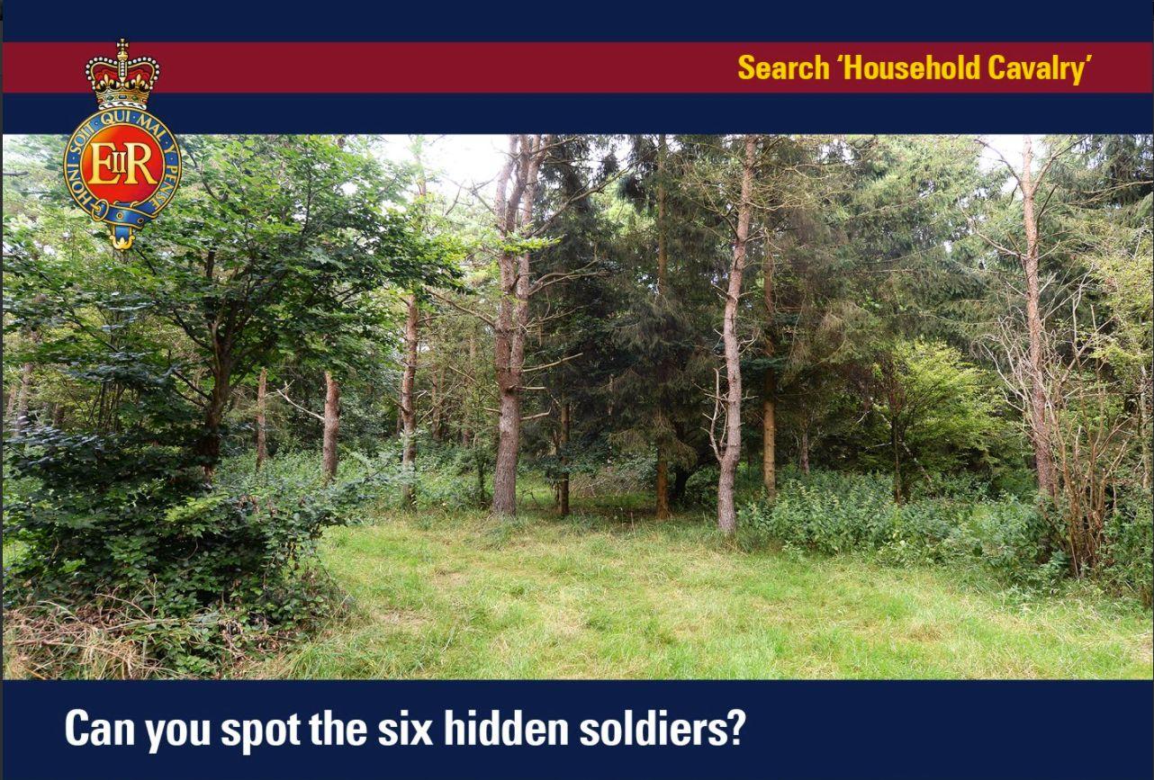 Britische Elite-Einheit veröffentlicht Suchbild: Wie viele Soldaten erkennt
