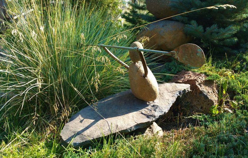 <em>Gifford's popular stone kayaker won't sink</em>