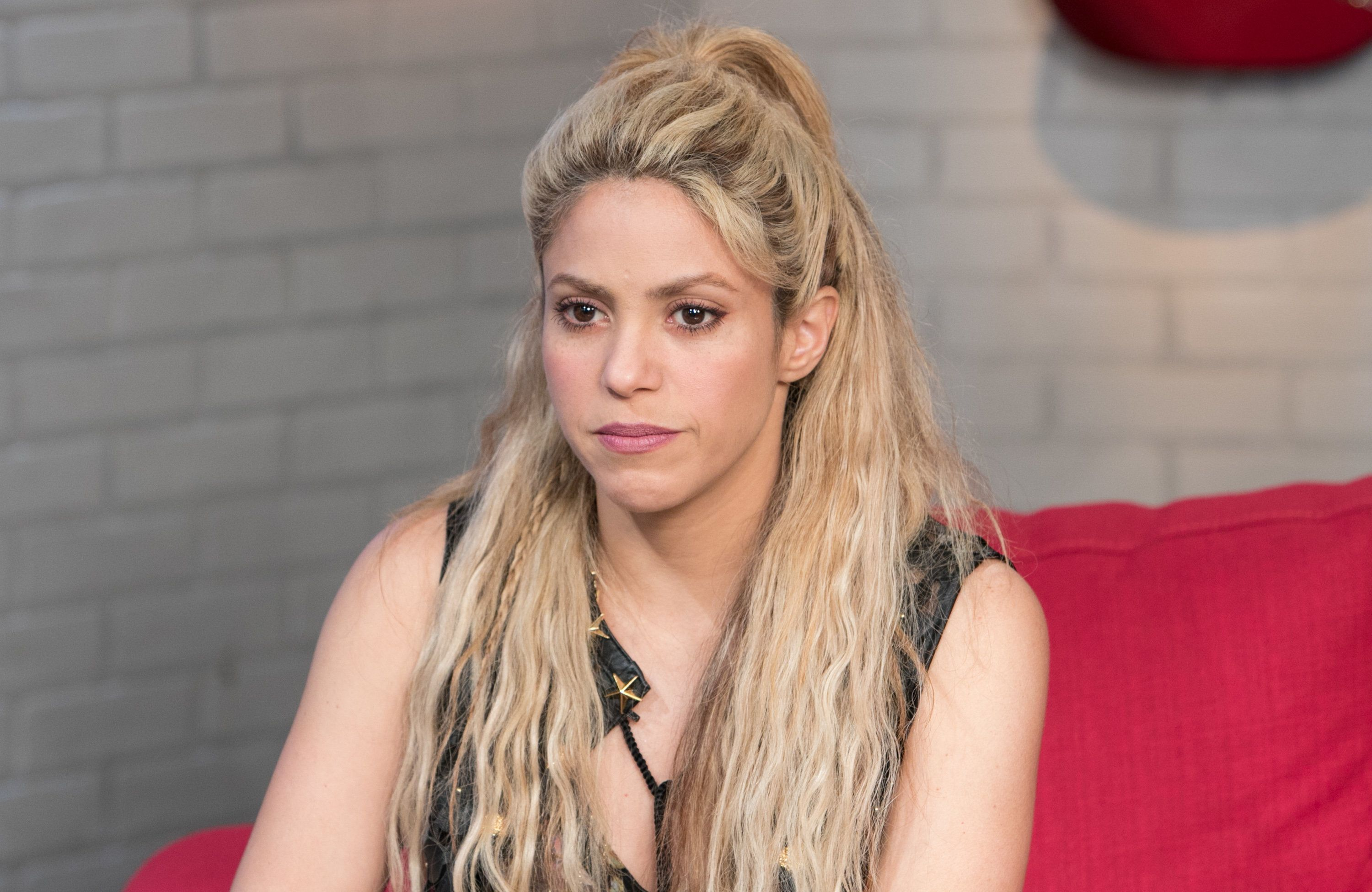 MIAMI, FL - MAY 26:  Shakira visits SBS Studio to promote her latest album, ÒEl Dorado at SBS Studios on May 26, 2017 in Miami, Florida.  (Photo by John Parra/Getty Images)