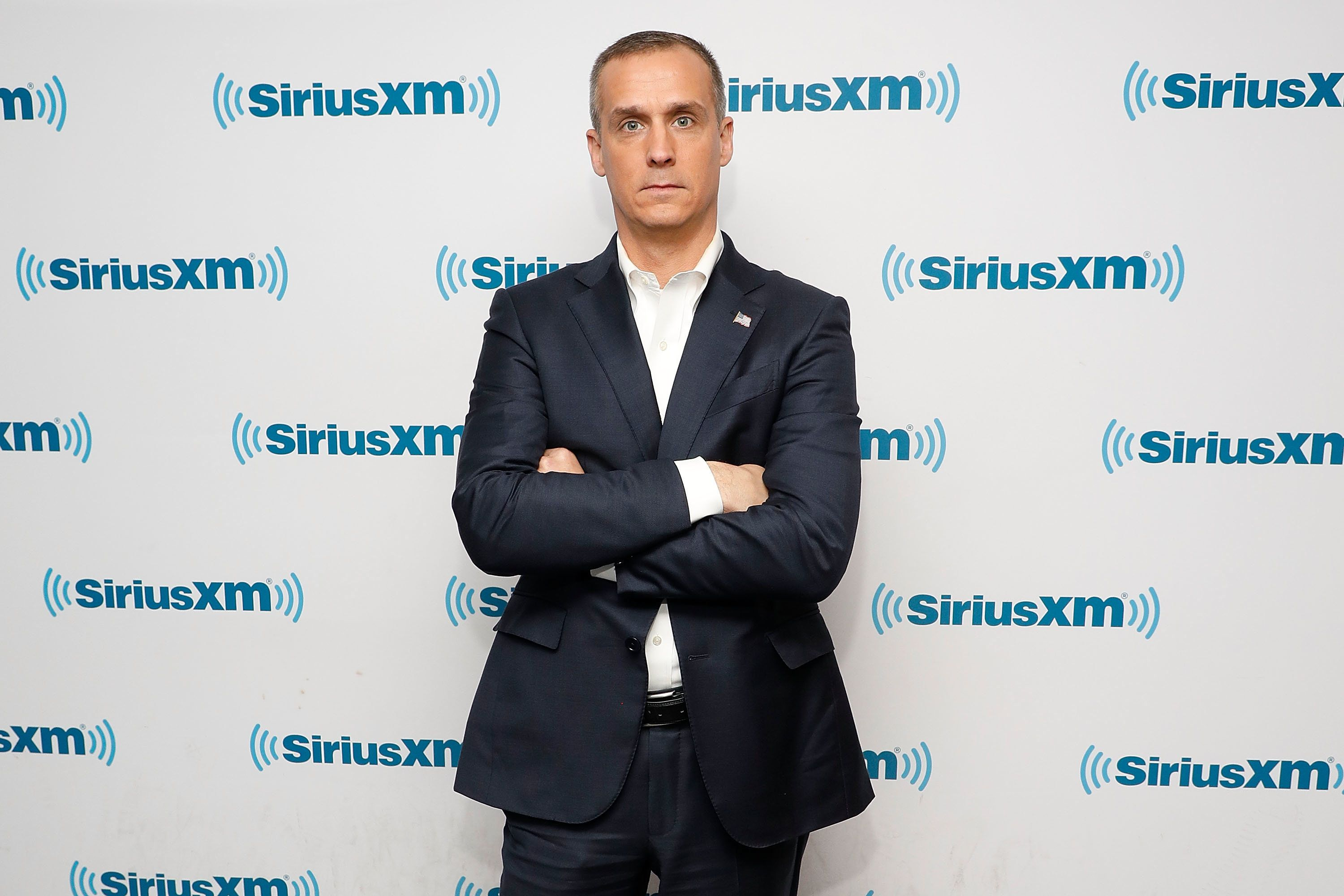 NEW YORK, NY - DECEMBER 06:  Corey Lewandowski, original campaign manager for Donald Trump for President, visits the SiriusXM studios to promote his book 'Let Trump Be Trump' on December 6, 2017 in New York City.  (Photo by Taylor Hill/Getty Images)