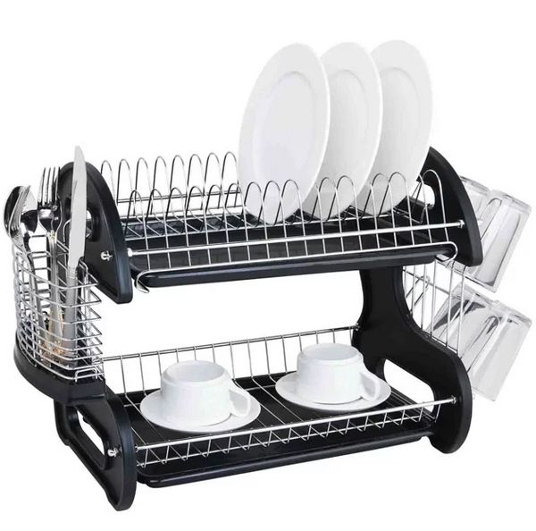 "Get it <a href=""https://www.allmodern.com/more/pdp/sweet-home-collection-sleek-contemporary-2-tier-dish-drainer-swet1468.html"