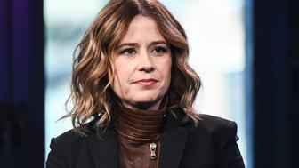 NEW YORK, NY - JANUARY 20:  Actress Jenna Fischer attends AOL Build to discuss her new show 'You, Me and the Apocolypse' at AOL Studios on January 20, 2016 in New York City.  (Photo by Daniel Zuchnik/WireImage)