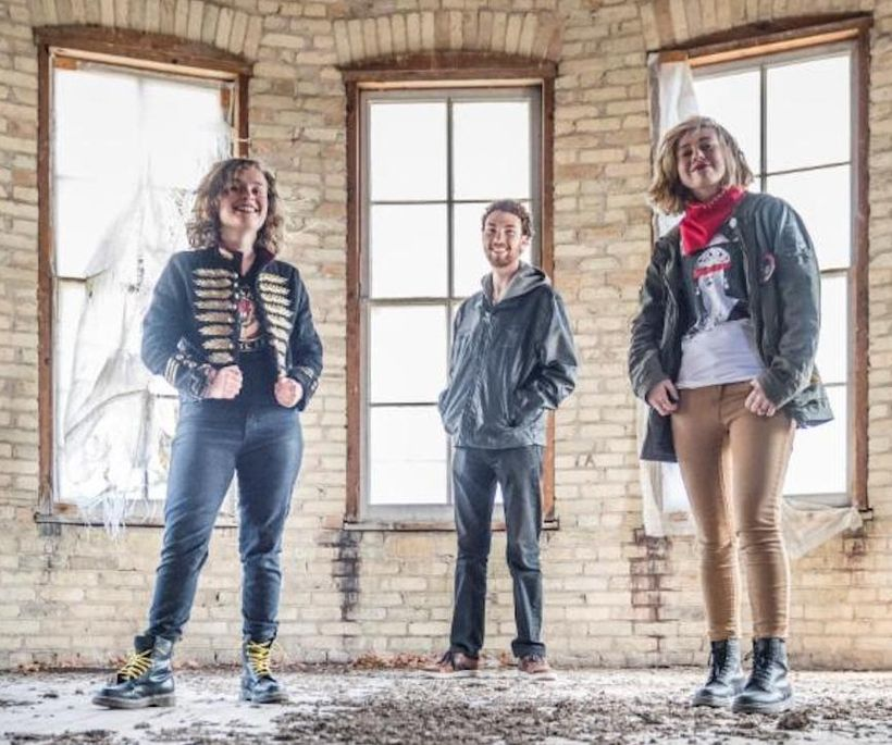 The Accidentals (from left): Katie Larson, Michael Dause, Sav Buist.