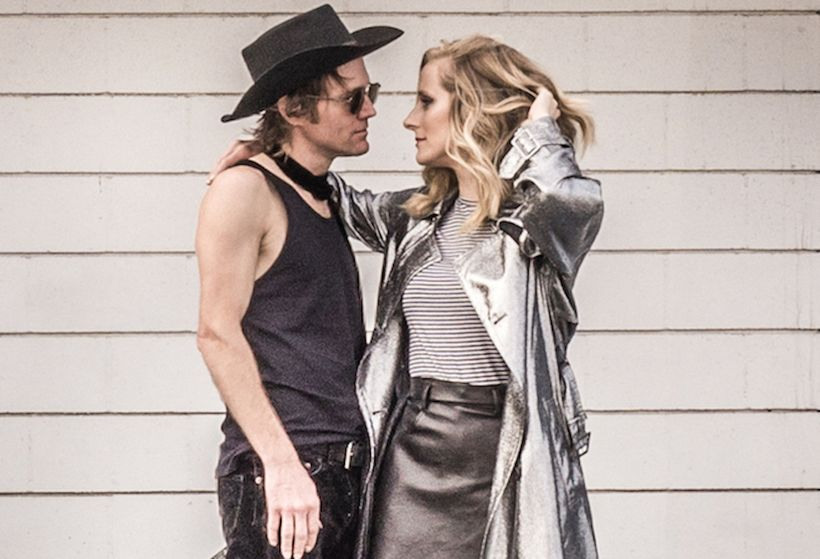 Whitehorse (from left): Luke Doucet and Melissa McClelland.