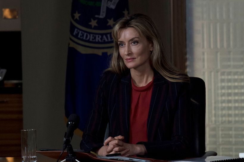 Natascha McElhone as Alex Kirkman in <em>Designated Survivor</em>.