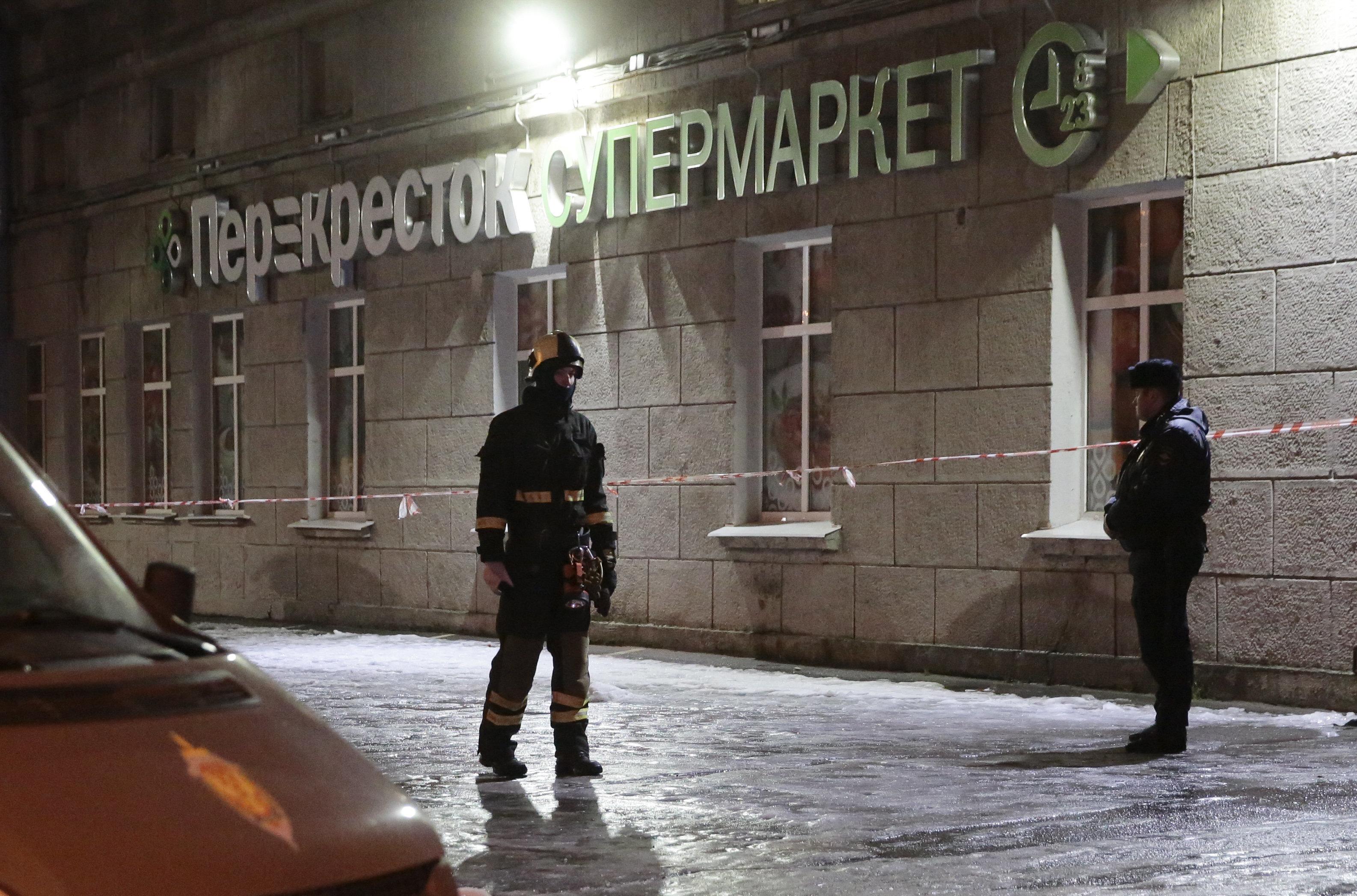 Πούτιν: Τρομοκρατική ενέργεια η έκρηξη αυτοσχέδιου μηχανισμού σε σουπερμάρκετ στην Αγία
