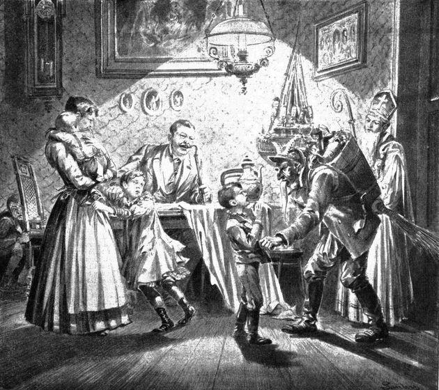 Κράμπους, ο δαίμονας των γιορτών που τρώει τα κακά παιδιά. Μια από τις πιο διαχρονικές φιγούρες στην...