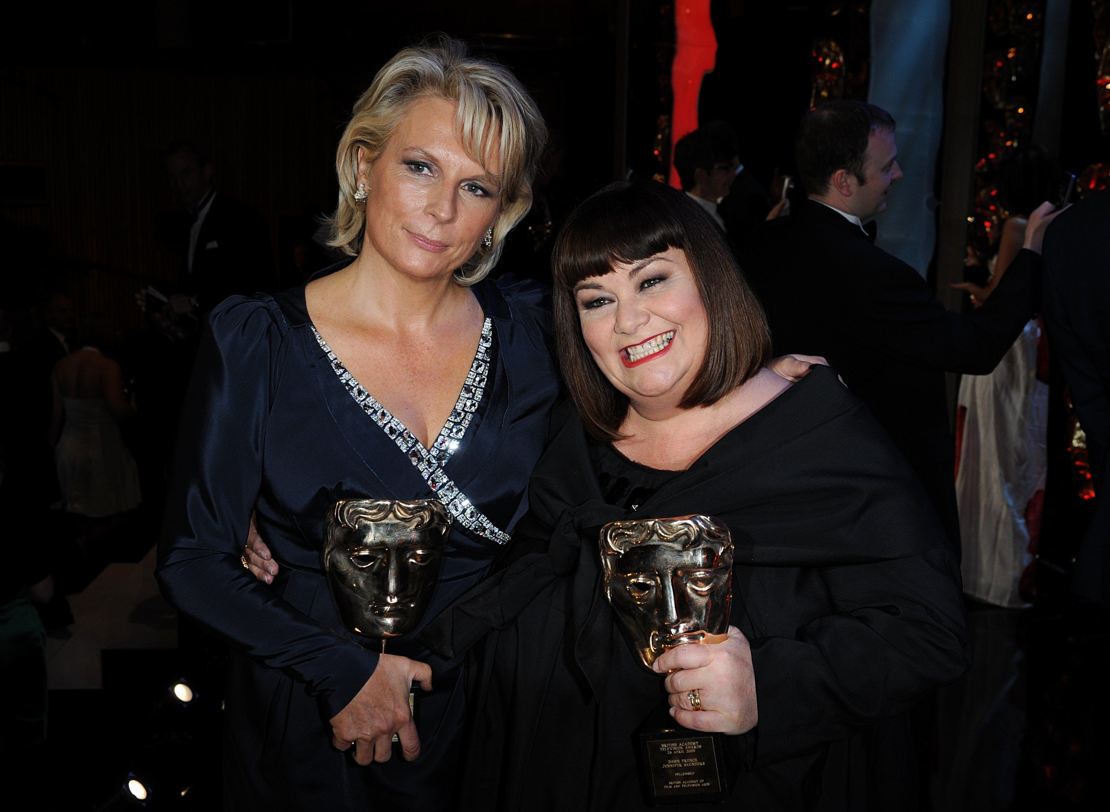 Dawn French (right) and Jennifer