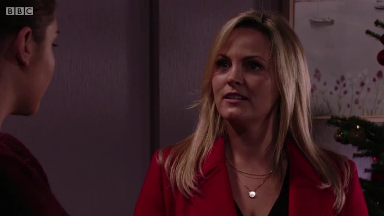 Tanya Branning made a shock return to 'EastEnders' on Christmas