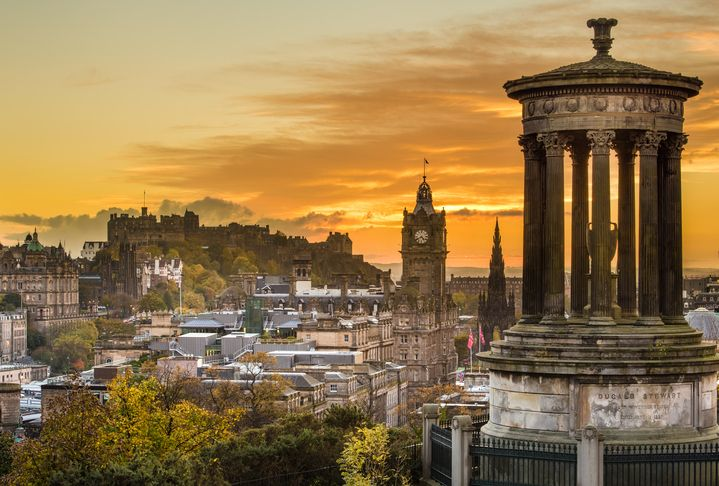 There's always a new magic to discover in Edinburgh.