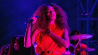 AUSTIN, TX - OCTOBER 13:  Solange performs during Austin City Limits Festival at Zilker Park on October 13, 2017 in Austin, Texas.  (Photo by Erika Goldring/FilmMagic)