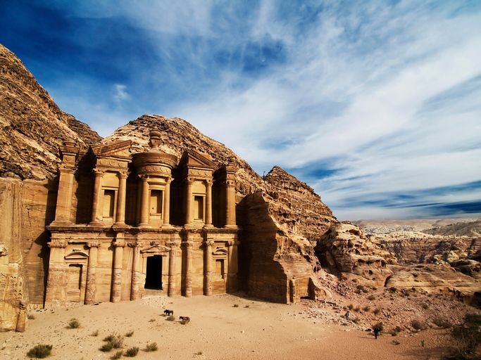 A city carved into pink sandstone? Petra is a must-see.