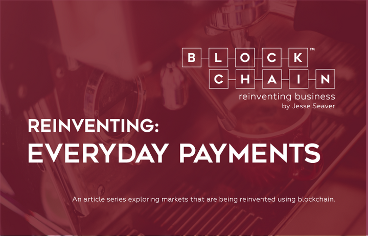 <p>AN ARTICLE SERIES EXPLORING COMPANIES REINVENTING MARKETS USING THE BLOCKCHAIN. </p>