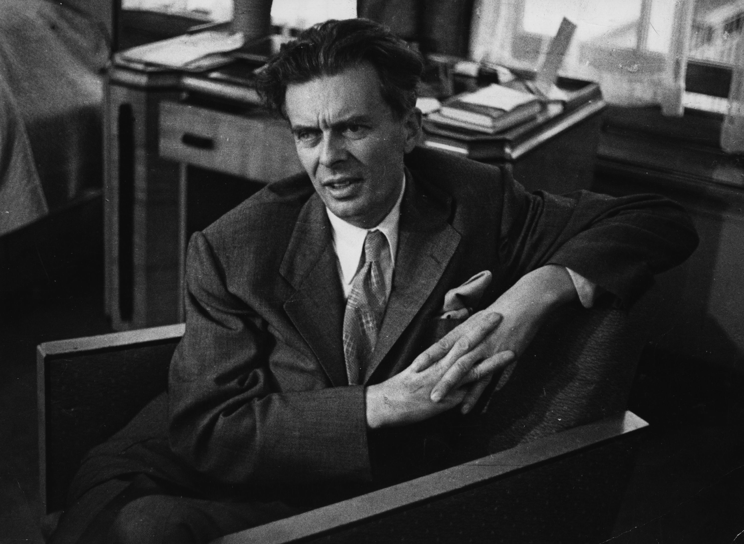 aldous huxley essayist Aldous huxley, a leading essayist, gives guidance on the subject[3] he notes that the essay is a literary device for saying almost everything about almost anything, and adds that by tradition, almost.