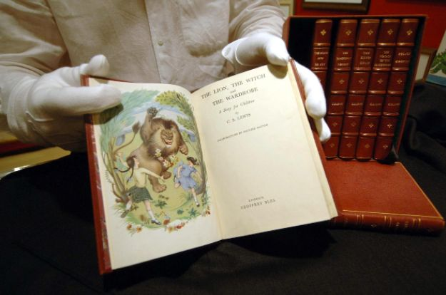 CS Lewis, the creator ofthe Chronicles of Narnia series, declined a