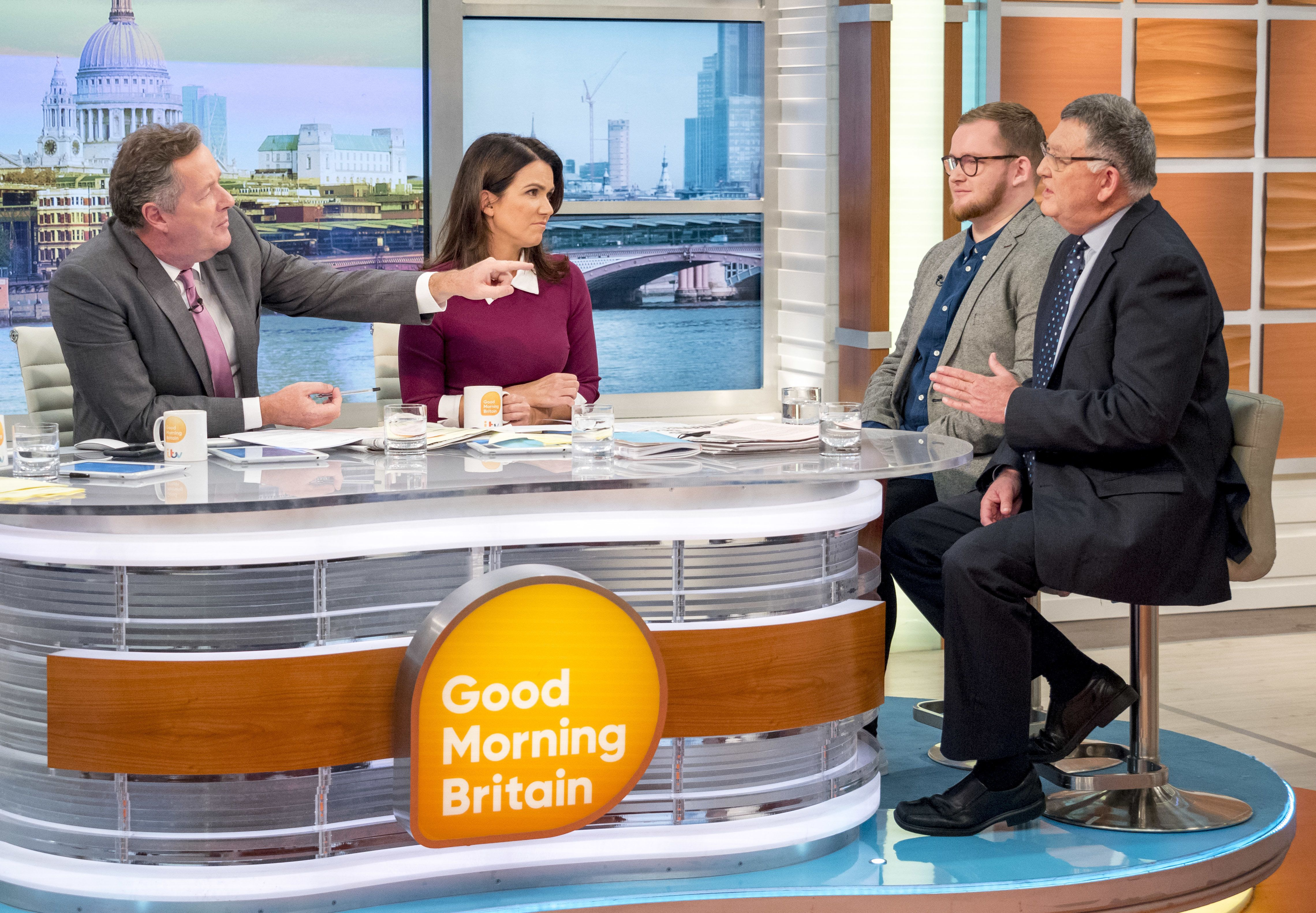<strong>'Good Morning Britain' caused controversy with an interview with a gay conversion therapist&nbsp;</strong>