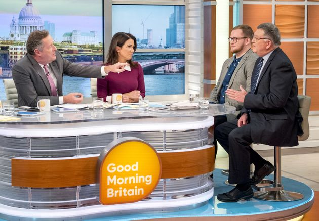 'Good Morning Britain' caused controversy with an interview with a gay conversion