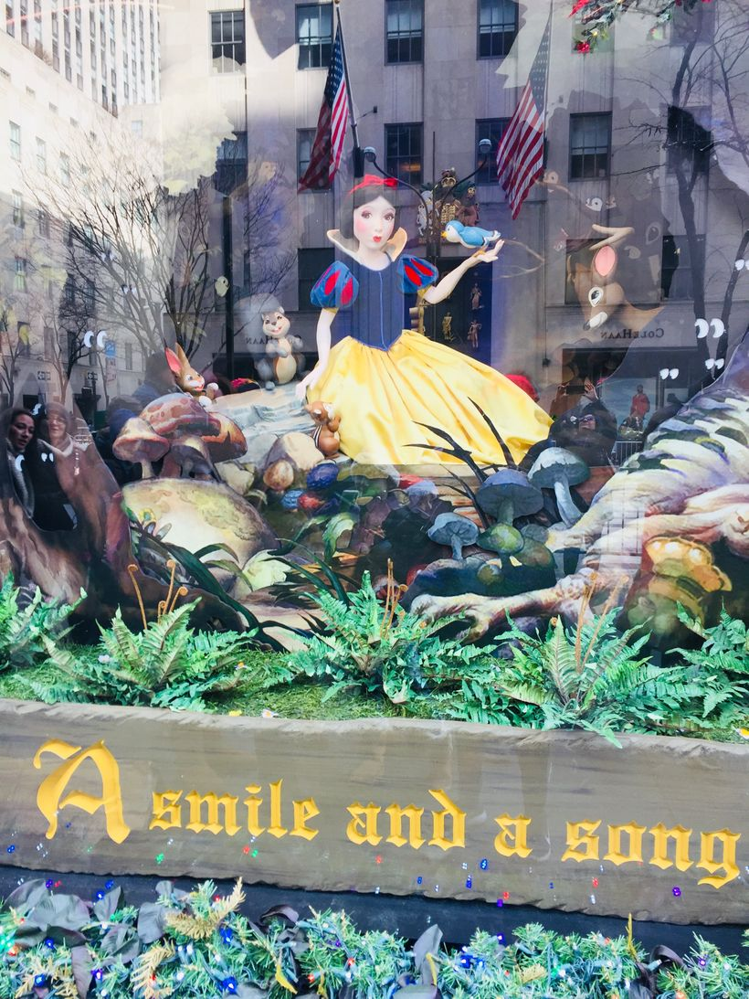 Snow White at Saks Fifth Avenue