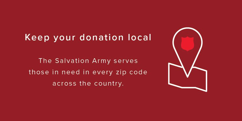 Salvation Army Keep Your Donation Local