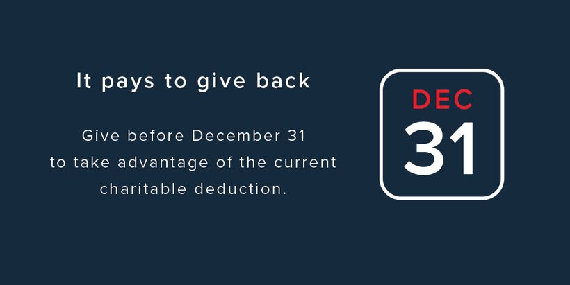 Salvation Army Year End Tax Deductible Donation
