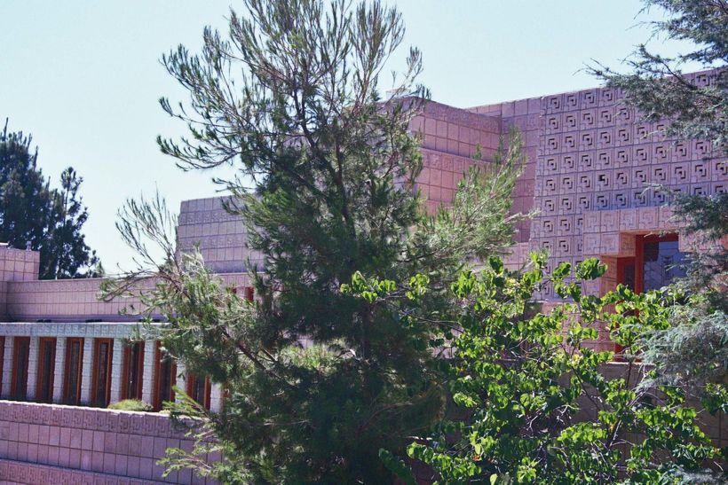Ennis House designed by Frank Lloyd Wright