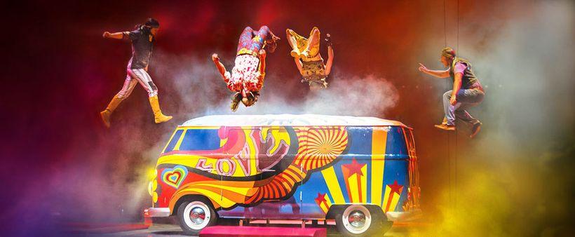 Cirque du Soleil's The Beatles: Love