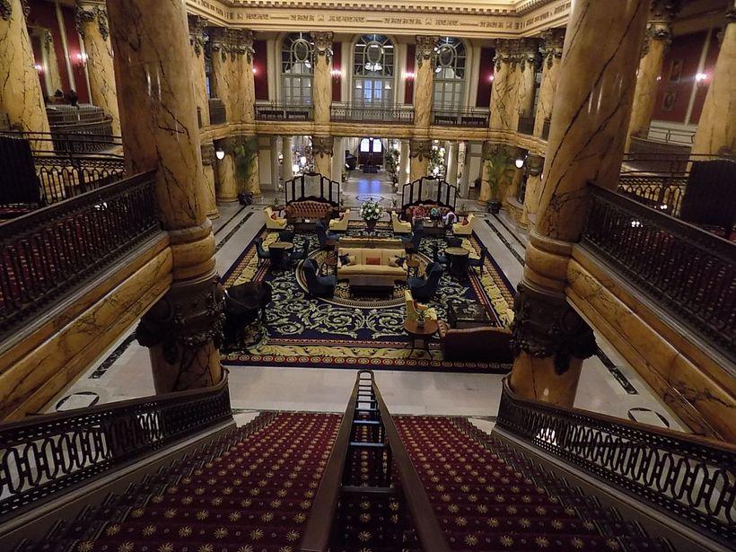 The Jefferson Hotel lobby
