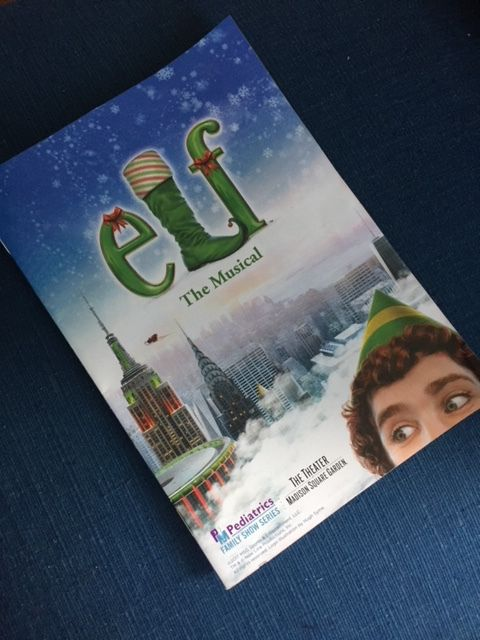 Elf Playbill