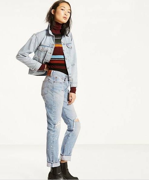 The no-stretch denim trend is in full swing, with consumers turning their eyes toward 100-percent cotton jeans and denim in 2