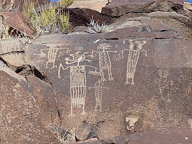 Petroglyphs, Ridgecrest, Calif.