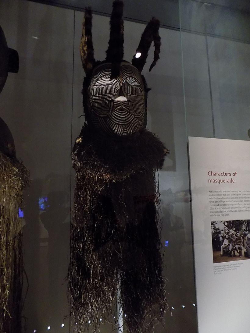 British Museu, African ritual costume