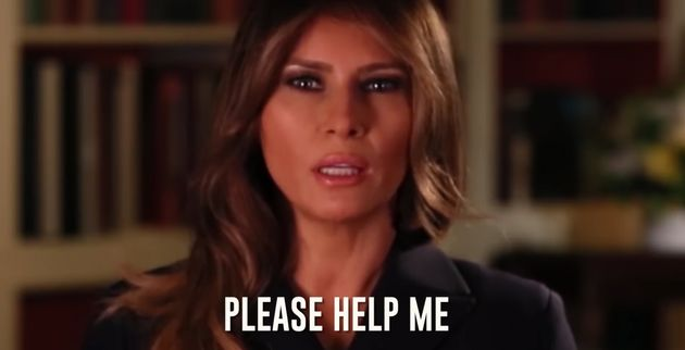 Bad Lip Reading's Trump Christmas Tune Has Melania Saying 'Help