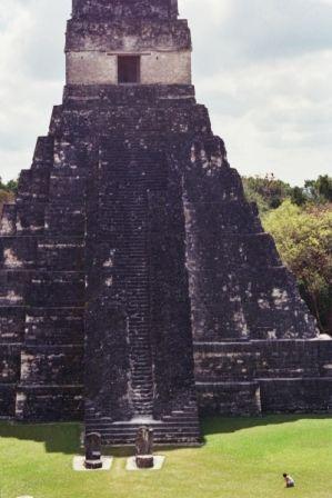 Temple of the Jaguar, Tikal, Guatemala