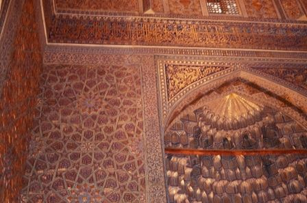 Tomb of Tamarlane, Samarkand, Uzbekistan