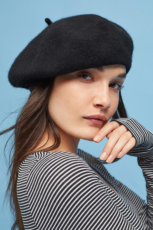 """Berets were the """"it"""" topper for fall runways in 2017, and it looks likeit's on the upswing for next year, too. And why"""