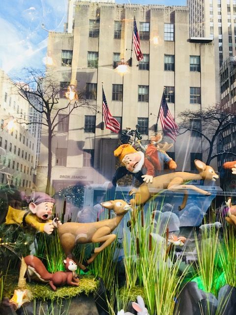 Saks Seven Dwarfs Window