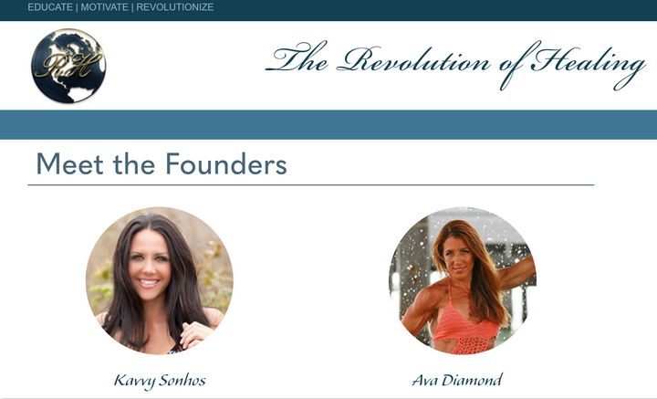 Ava Diamond and Kavvy Sonhos just started The Revolution of Healing website.