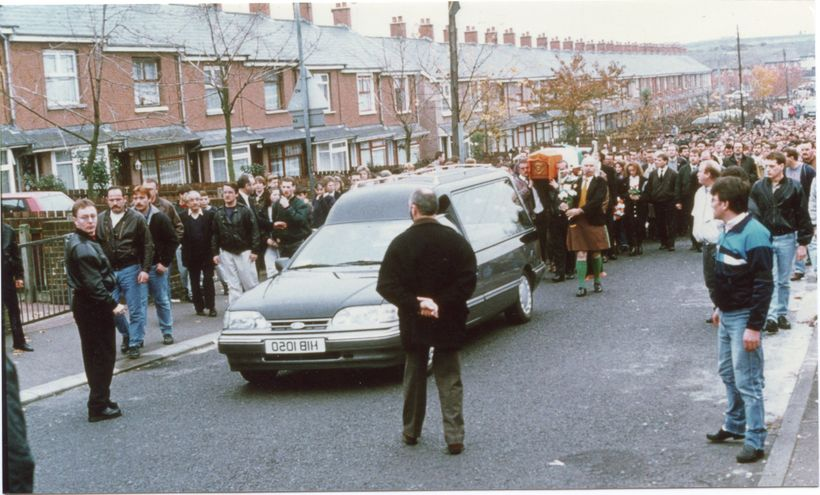IRA funeral procession 1993