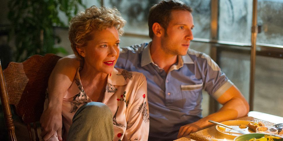 "Annette Bening and Jamie Bell in ""Film Stars Don't Die in Liverpool."""