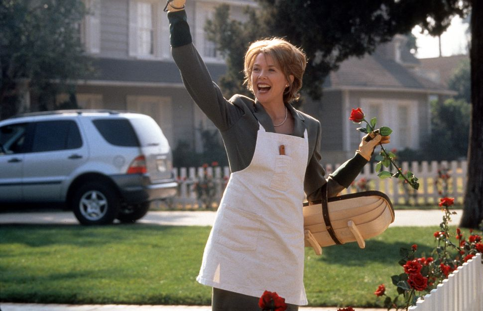 "Annette Bening in ""American Beauty."""