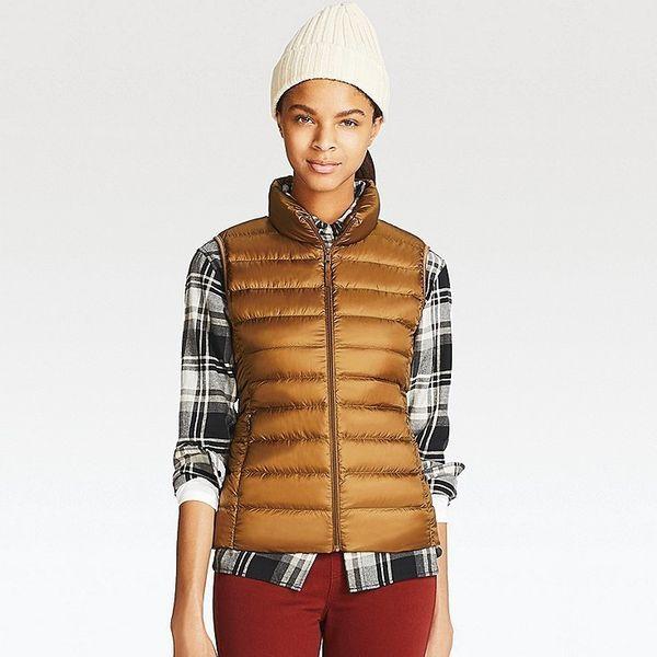 """Get it <a href=""""https://www.uniqlo.com/us/en/women-ultra-light-down-vest-400710.html?dwvar_400710_size=SMA002&dwvar_40071"""