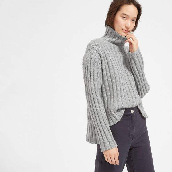 "Get it <a href=""https://www.everlane.com/products/womens-wool-cashmere-rib-ovrszd-ttlneck-heathergrey?collection=womens-sweat"
