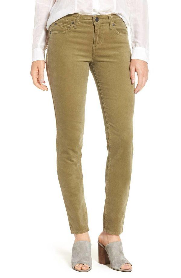 "Get them <a href=""https://shop.nordstrom.com/s/kut-from-the-kloth-diana-stretch-corduroy-skinny-pants-regular-petite/4843618?"